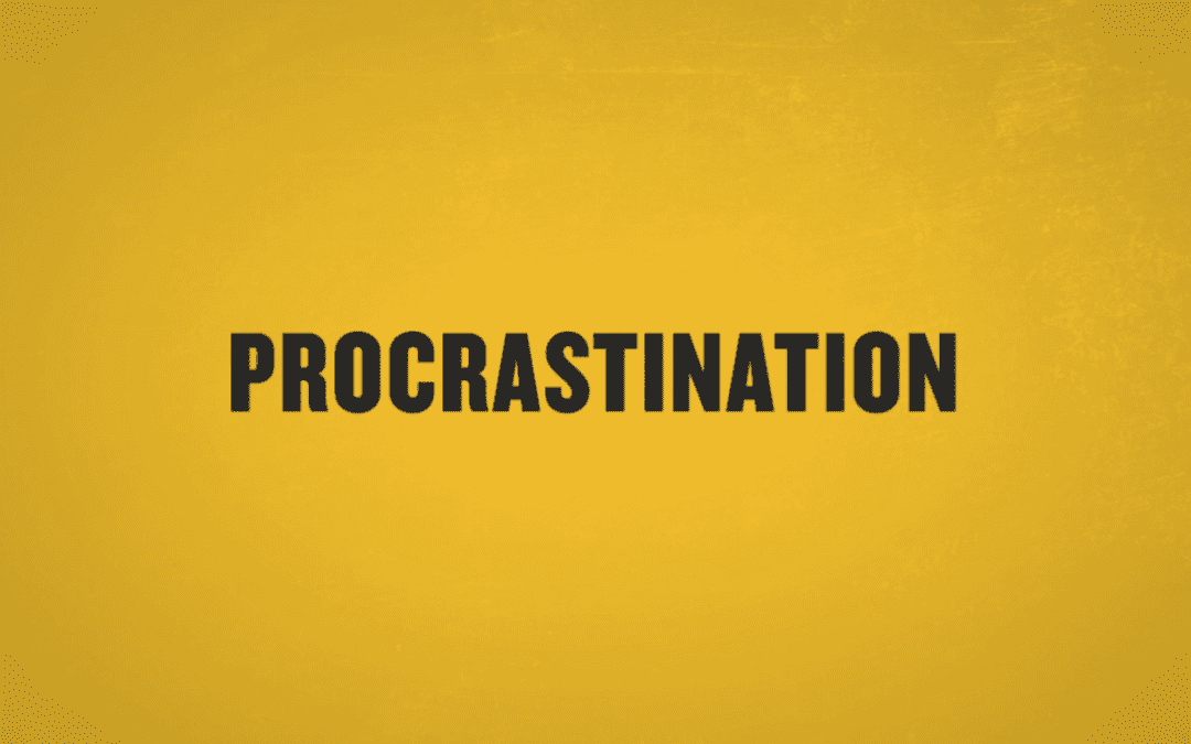 Six Ways to Stop Procrastinating